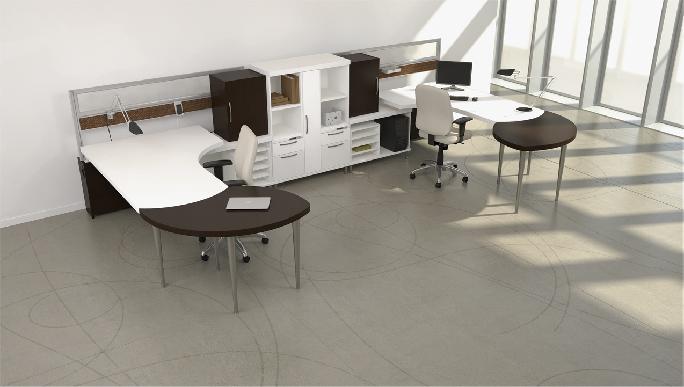 Artopex Air Line workstation design