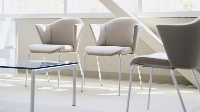 Steelcase Capa chair as featured on the Hatch blog: DON'T FORGET THE WAITING AREA IN YOUR OFFICE DESIGN
