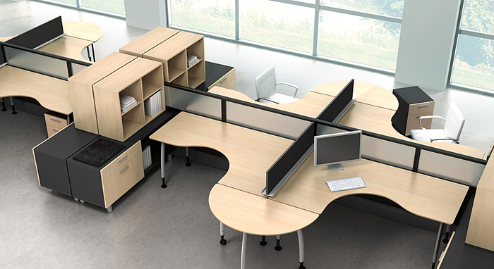 Watson Desking as featured on the Hatch Blog: COMMERCIAL DESIGN TRENDS PART 1 – SMALLER SPACES
