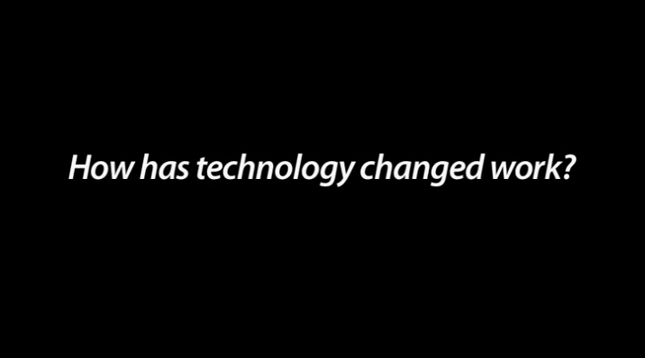 How has technology changed work? video by Teknion as featured on the Hatch Blog - COMMERCIAL DESIGN TRENDS PART 4 –TECHNOLOGY AND DESIGN