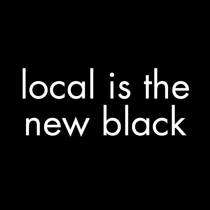 Local New Black graphic as featured on the Hatch Blog - LOCALLY MANUFACTURED MATERIALS PART 1: THE WHY AND THE HOW
