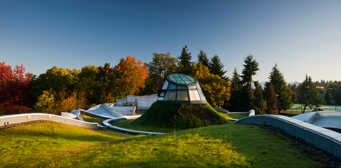 VanDusen GreenRoof by Architek as featured on the Hatch Blog - LOCALLY MANUFACTURED MATERIALS: GREEN ROOFS, LIVING WALLS & FRAMES