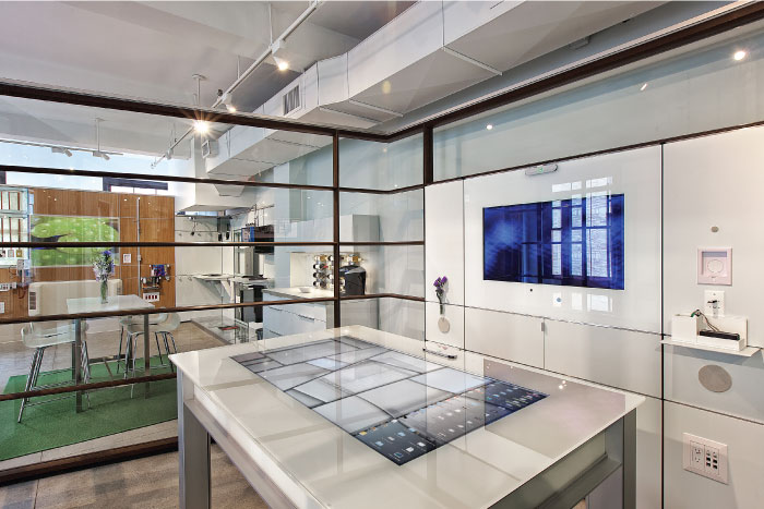 DIRTT office installation as featured on the Hatch Blog - LOCALLY MANUFACTURED MATERIALS PART 7: DIRTT AND SPIDER