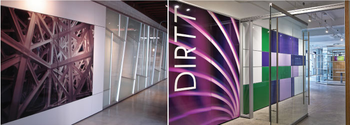 DIRTT office installations as featured on the Hatch Blog - LOCALLY MANUFACTURED MATERIALS PART 7: DIRTT AND SPIDER