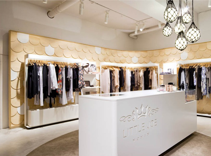 Little Joe Woman Retail Store Designed By MAKE Creative As Featured On The Hatch Blog
