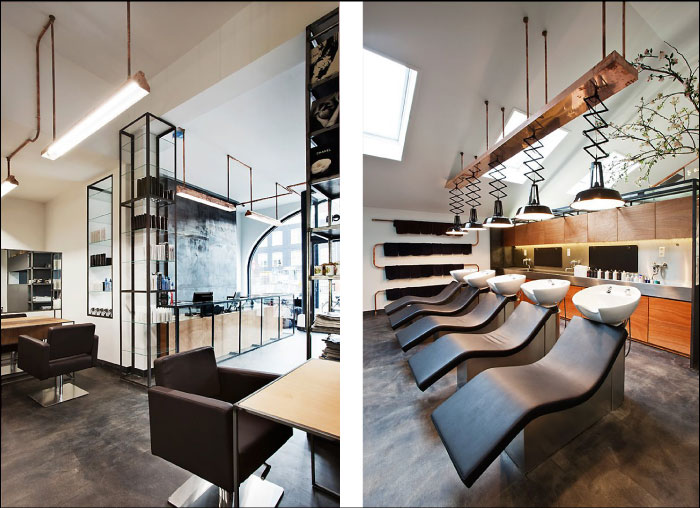 Mogeen Salon design by Dirk van Berkel as featured on the Hatch blog - TOP 5 TIPS FOR A SUCCESSFUL DESIGN PROJECT: HIRE A GENERAL CONTRACTOR