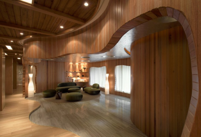 One Taste Holistic Health Club by Crox International as featured on the Hatch Blog - The Top 5 Tips for a Successful Design Project: Trust your Interior Designer.