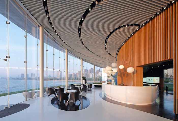 Weihai Pavilion by Make Architects as featured on the Hatch Blog - The Top 5 Tips for a Successful Design Project: Trust your Interior Designer.