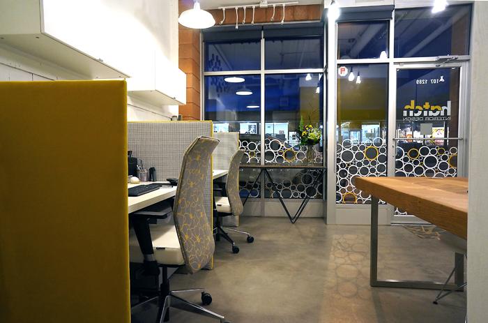 Hatch Interior Design's Office