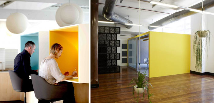 Hatch interior design sneak peek of urban jungle for Advertising agencies office interior design