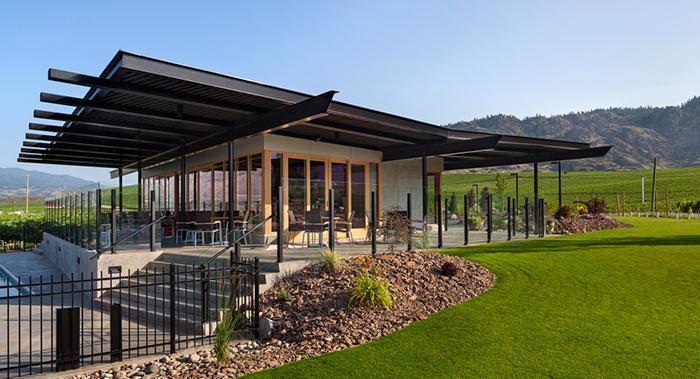 Okanagan Design and Activities for Visitors - Black Hills Estate Winery in Osoyoos designed by Nick Bevanda