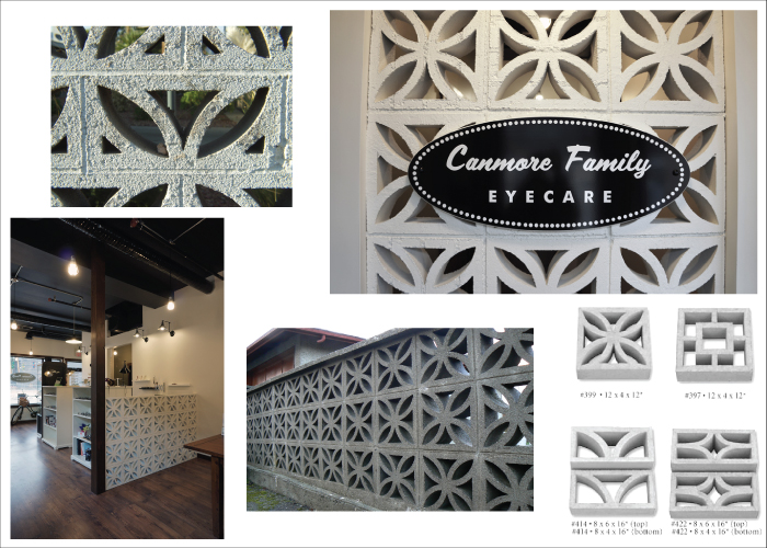Design Process for Canmore Family Eyecare by Hatch Interior Design
