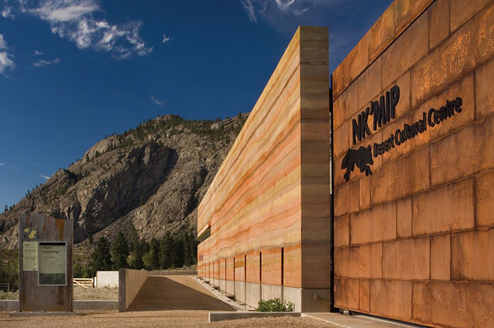 Okanagan design and activities for visitors - Nk'Mip Desert Cultural Centre in Osoyoos, BC designed by HBBH Architecture