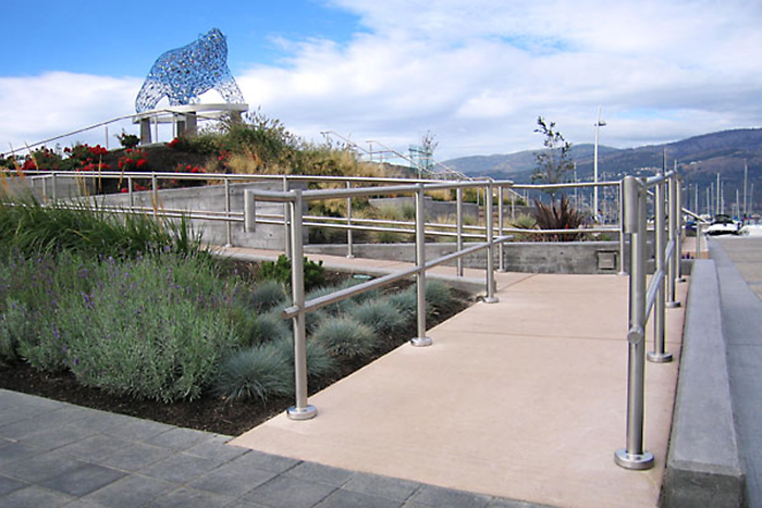 Okanagan design and activities for visitors - Stuart Park in downtown Kelowna, BC