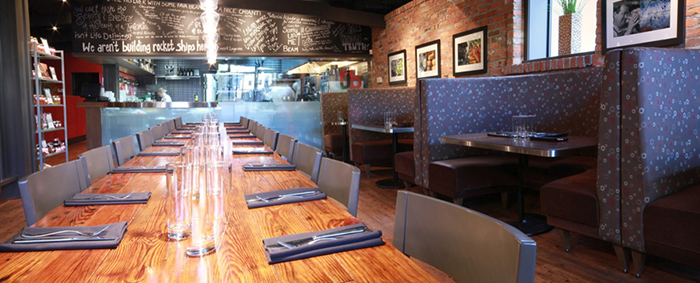 Okanagan design and activities for visitors - RauDZ restaurant in Kelowna, BC