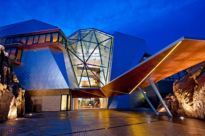 Okanagan design and activities for visitors - Sparkling Hill Resort designed by Cannon Design