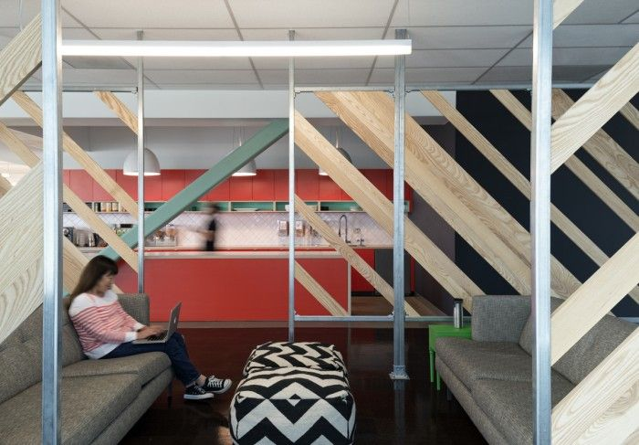 Open Office Design - Semi-Private Meeting Space Designed by Studio O+A for Evernote