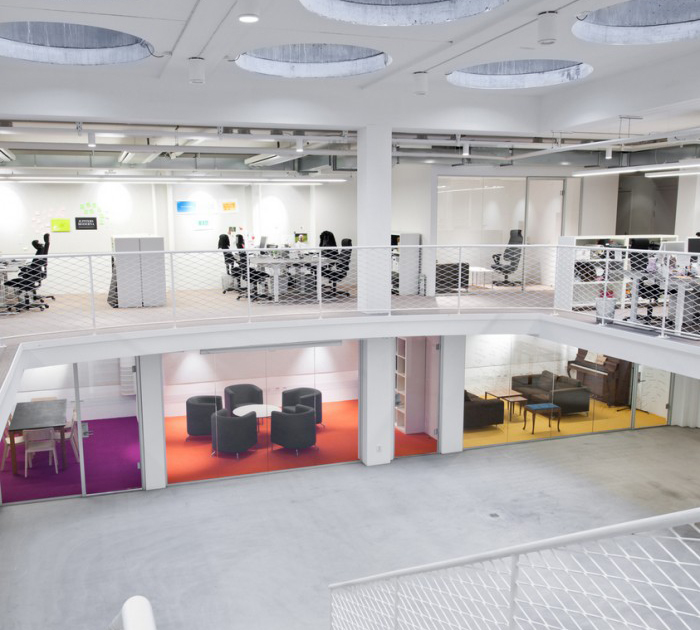 open office design balance focus with collaboration