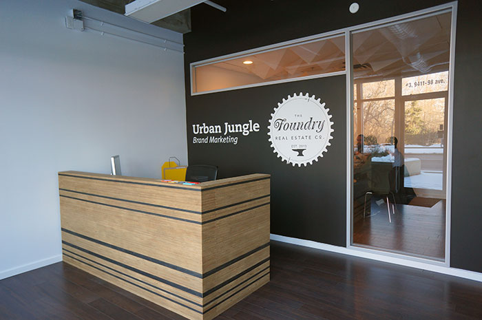 Urban Jungle Office Design