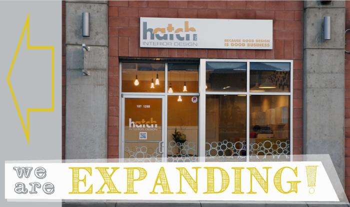 Hatch Interior Design Office Expansion
