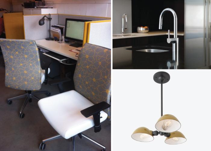Hatch Interior Design Office Expansion, Components