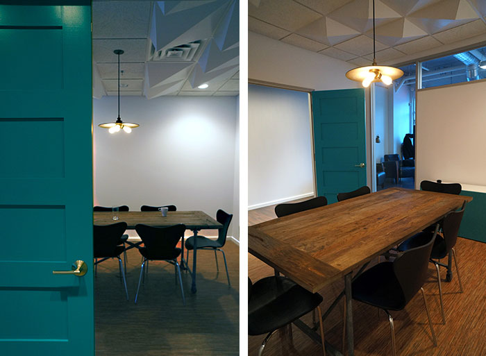 Hatch interior design blog urban jungle office design for Industrial office interior design