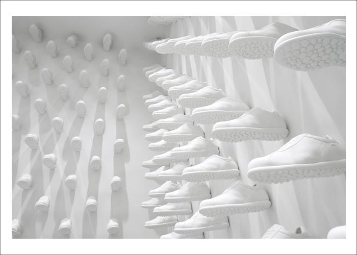 Hatch's favourite design firms in 2013 - Nendo's Camper store NYC
