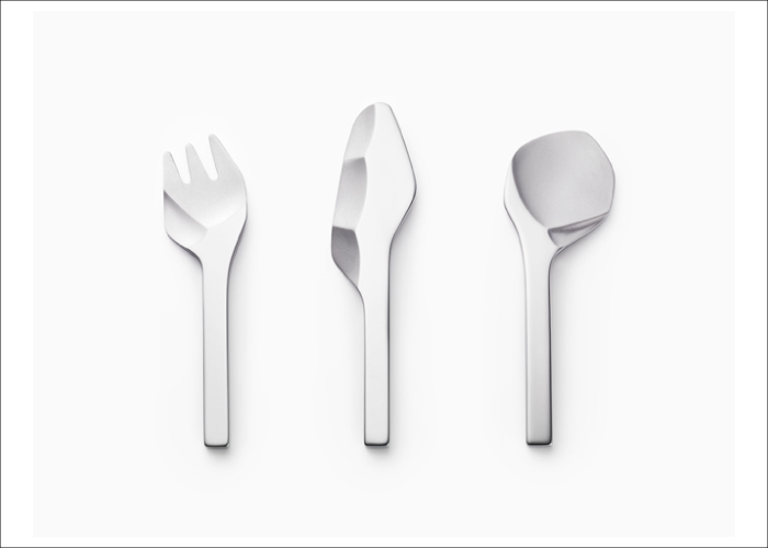 Hatch's favourite design firms in 2013 - Nendo, cutlery for Luckywood