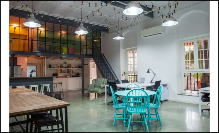 Ministry of New shared office space as featured by Hatch Interior Design: 2014 Interior Design Predictions