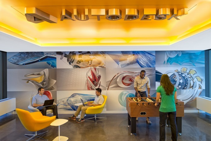 Autodesk by Gensler as seen on the Hatch blog: Office Design for Introverts and Extroverts