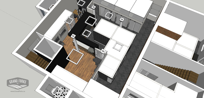 Grand Forks City Hall Reconstruction Concept - Hatch Interior Design