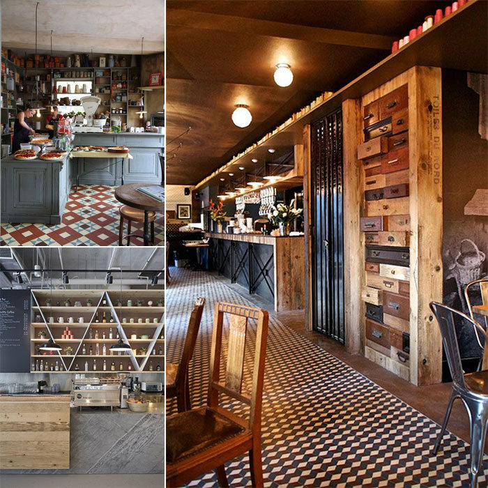 The inspiration behind Il Tavolino Gelateria and Cafe Conceptual Design by Hatch Interior Design and Magpie Interiors
