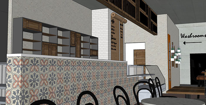 IL TAVOLINO GELATERIA AND CAFÉ CONCEPTUAL DESIGN