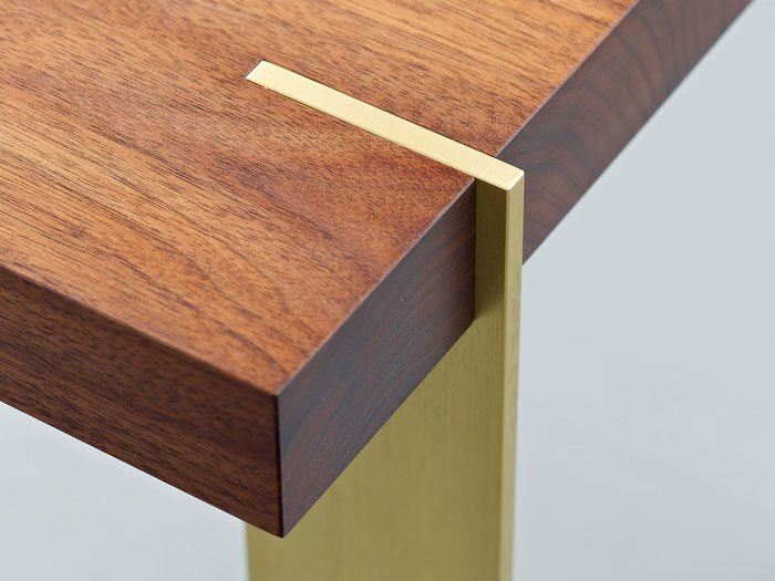 Platte Table by Alice Tachen as featured on the Hatch blog about the Interior Design Process.