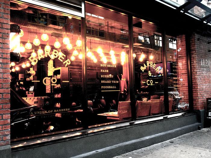 Interior Design in Vancouver: Barber & Co.