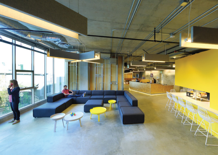 Interior Design Process - Funny Or Die Offices by Clive Wilkinson - Htch Interior Design blog