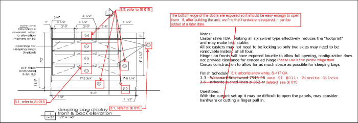 Hatch s interior design process part 3 - General notes for interior design drawings ...