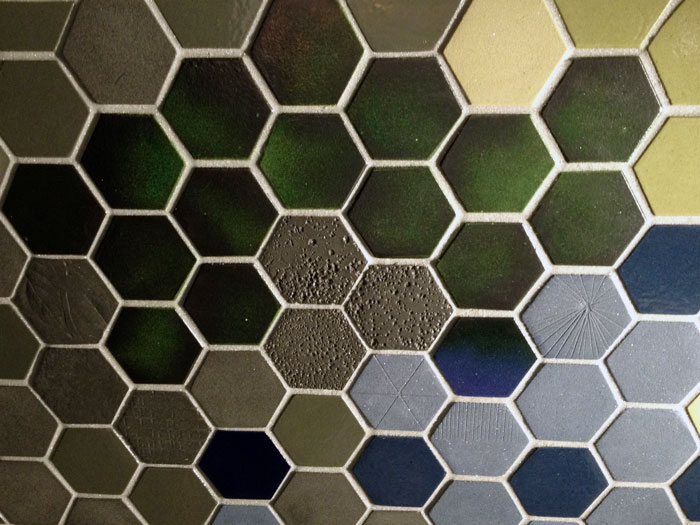 Interior Design in Vancouver: Hexagon tiles at Interstyle's IDSWest 2014 Booth