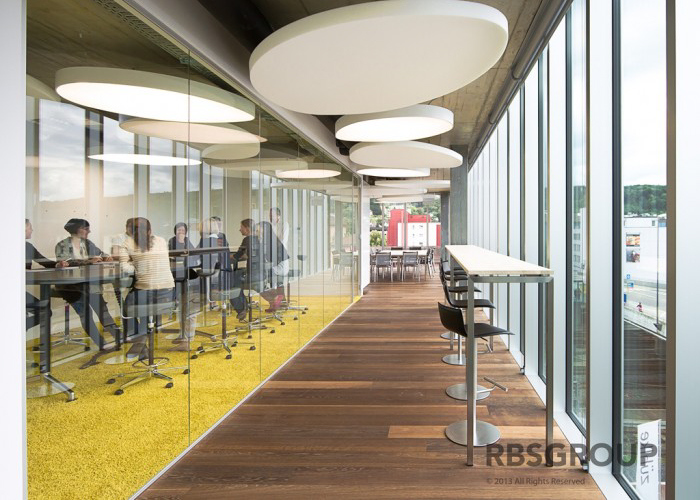 High-tech Corporate Interior Design: Zuhlke Engineering AG office by RBS  Group