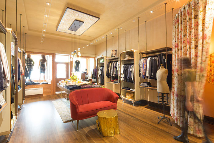 The Boutique retail interior design by Hatch Interior Design