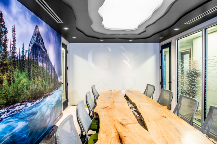 Grouse River offices interior design - Executive Boardroom, Hatch Interior Design