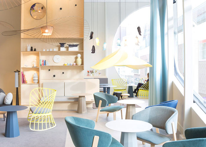 Novotel by Constance Guisset exhibits femininity- interior design predictions for 2015, Hatch Interior Design blog