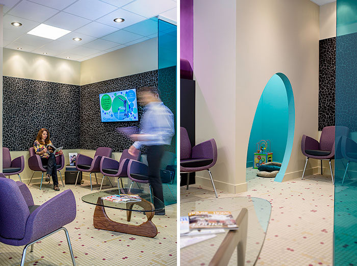 Nuvue Optometry by Hatch Interior Design.