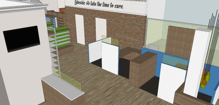 Consult and Dispensary -Lakeside Pharmacy Design Concept_Hatch Interior Design Blog