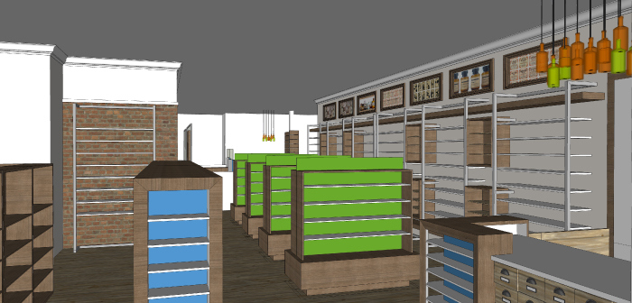 Retail -Lakeside Pharmacy Design Concept_Hatch Interior Design Blog