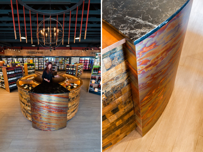 Cask and Barrel - liquor store interior design - Hatch Interior Design