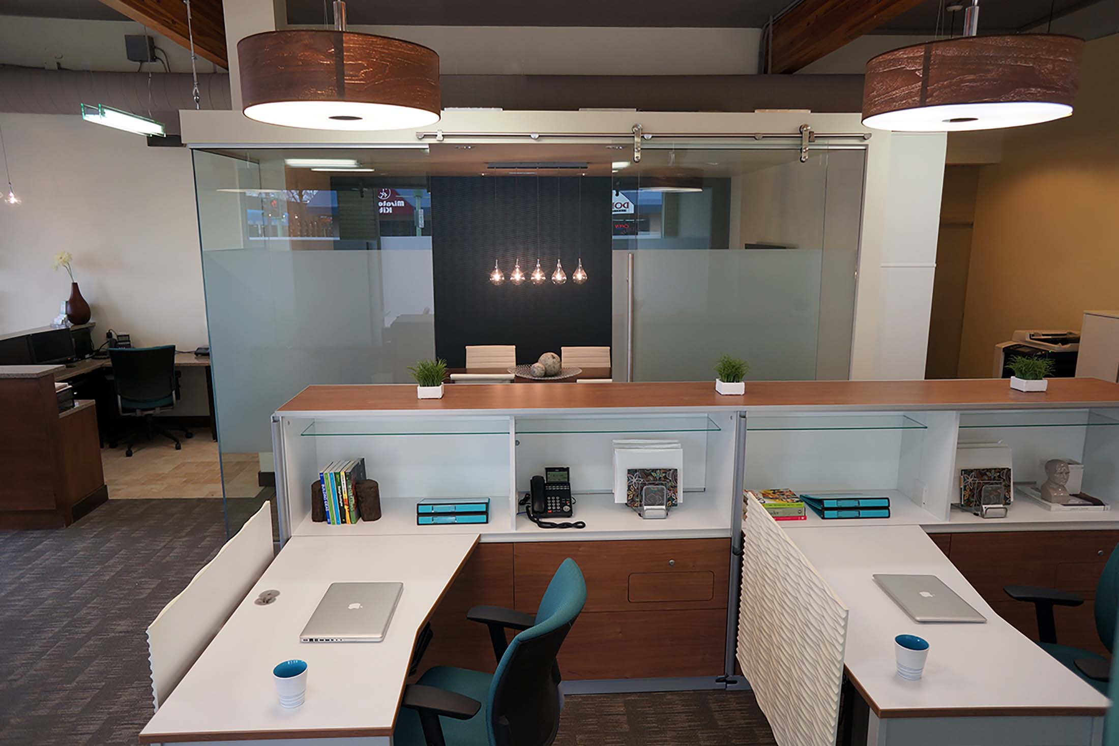 Professional services office hatch design for Office design kelowna