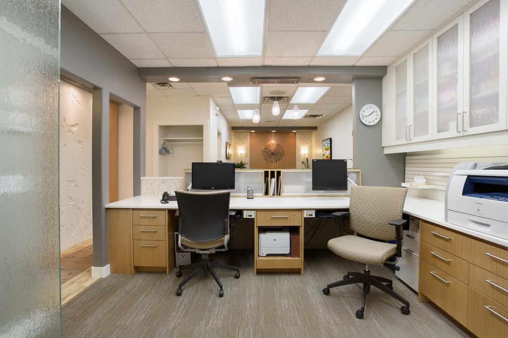 Lake country family dentistry hatch design for Office design kelowna