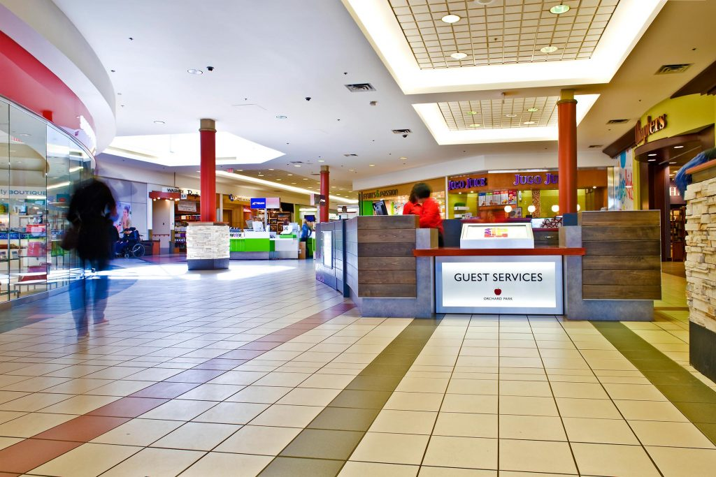 Orchard Park Shopping Centre Design Guest Services
