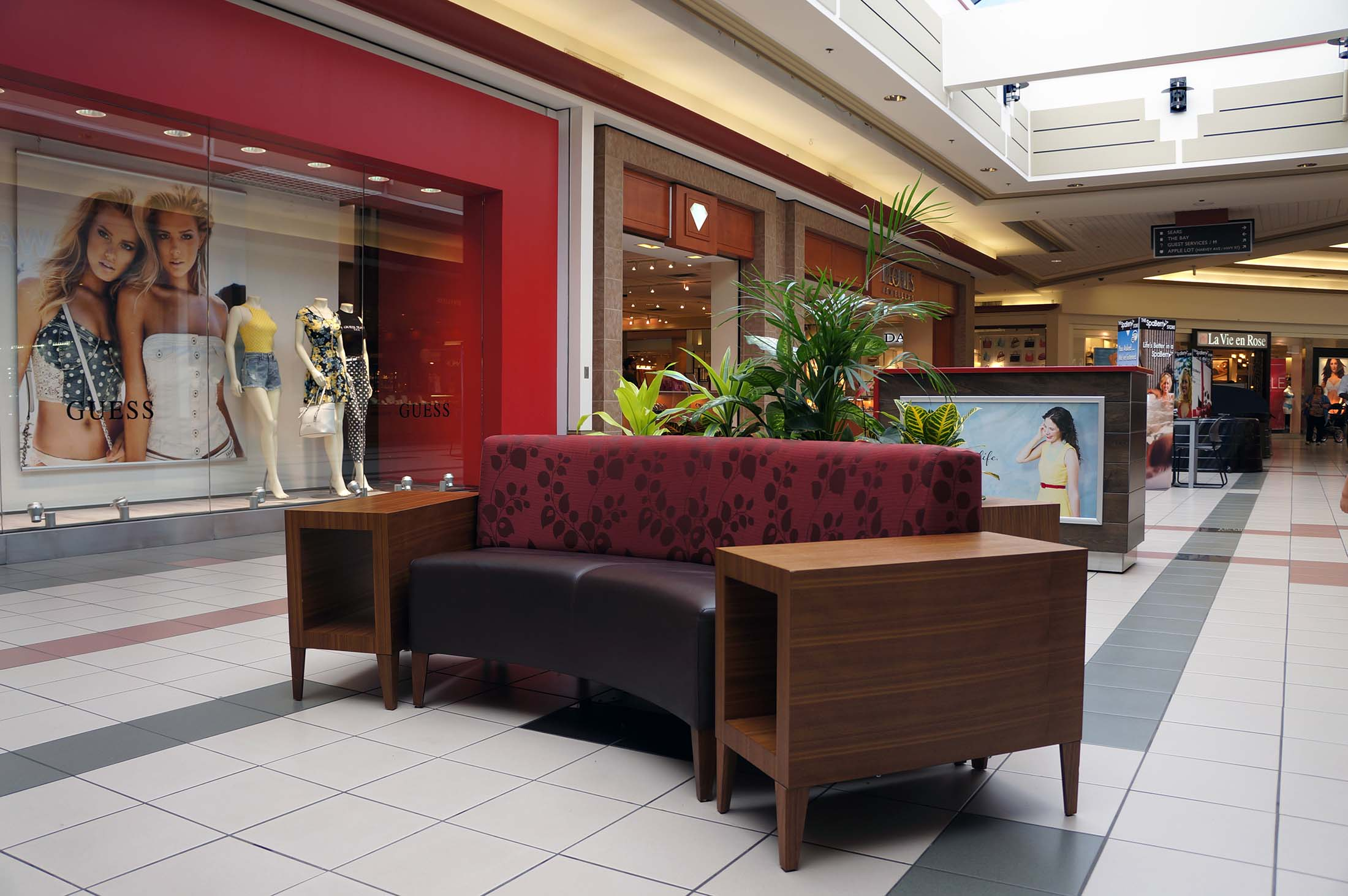 Orchard Park Shopping Centre Custom Furniture Hatch Design